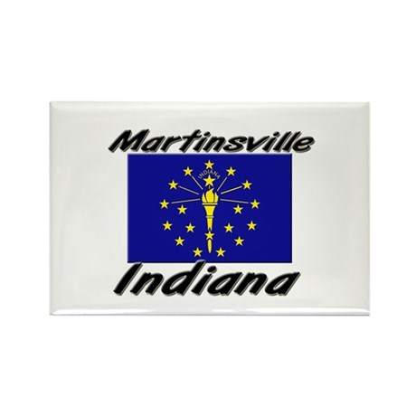 Martinsville Indiana Rectangle Magnet