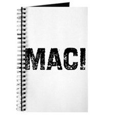 Maci Journal