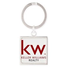 Cool Williams Square Keychain