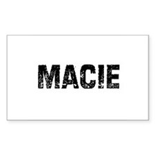 Macie Rectangle Decal