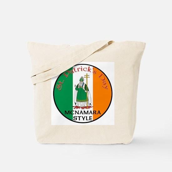Mcnamara, St. Patrick's Day Tote Bag