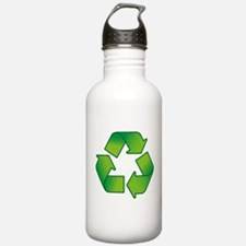 Cute Recycle symbol Water Bottle