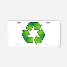Unique Recycle Aluminum License Plate
