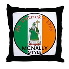 Mcnally, St. Patrick's Day Throw Pillow