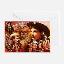 Annie Oakley Greeting Card