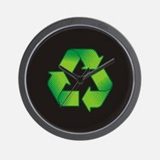 Cute Recycle symbol Wall Clock