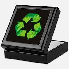 Funny Recycling Keepsake Box