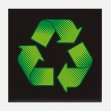 Unique Recycling Tile Coaster