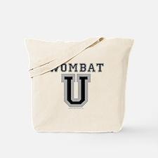 Wombat U Tote Bag