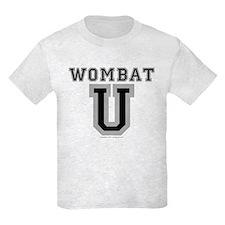 Wombat U Kids T-Shirt Light Colored