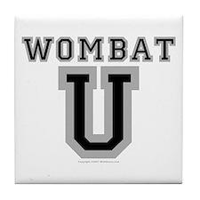 Wombat U Coaster Tile