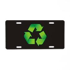 Cute Environmental Aluminum License Plate