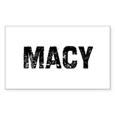 Macy Rectangle Decal