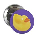Toy Rubber Duck Pattern Button