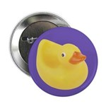 "Toy Rubber Duck Pattern 2.25"" Button (100 pack)"