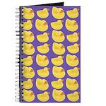 Toy Rubber Duck Pattern Journal