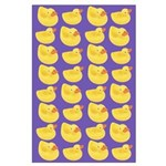 Toy Rubber Duck Pattern Large Poster