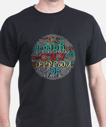 Unique Word cloud T-Shirt