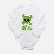 Wee Bit Arr-ish Long Sleeve Infant Bodysuit