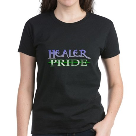 Healer Pride<br> Women's Dark T-Shirt