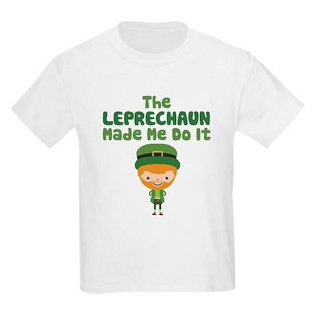 The Leprechaun Made Me Do It Kids' T-Shirt