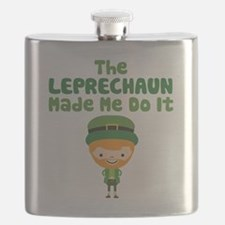 Leprechaun Made Me Flask