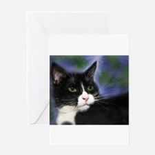 Tuxedo cats Greeting Card