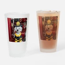 Unique Firehouse dog Drinking Glass
