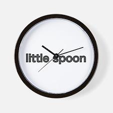 Cute Little spoon Wall Clock