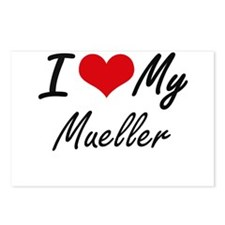 I Love My Mueller Postcards (Package of 8)