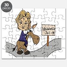 Unique Democrat donkey Puzzle