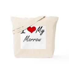 I Love My Morrow Tote Bag
