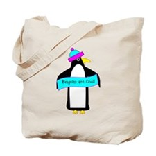Penguins are Cool Tote Bag