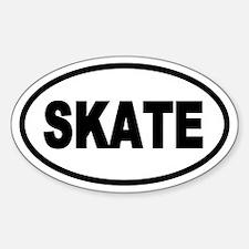 Basic Skating Oval Decal