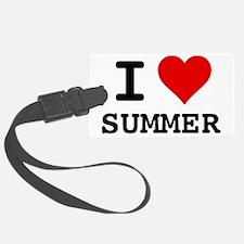 I love Summer Luggage Tag