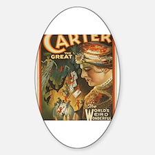 Cute Carter Sticker (Oval)