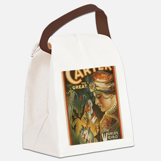 Cute Carter Canvas Lunch Bag