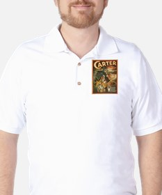 Vintage poster - Carter the Great Golf Shirt