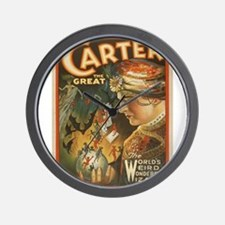 Vintage poster - Carter the Great Wall Clock