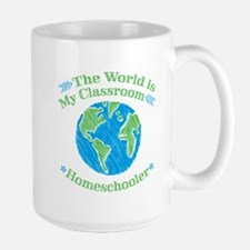 World is My Classroom Mugs