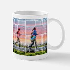 Women running Mugs