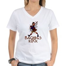 Bagpipes Rock Shirt