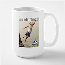 Trust the Children Mug