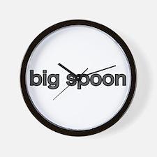 Funny Little spoon Wall Clock