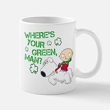 Family Guy Where's Your Green Mug