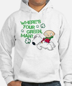 Family Guy Where's Your Green Hoodie