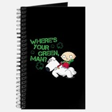 Family Guy Where's Your Green Journal