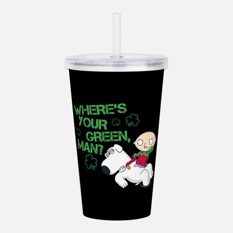 Family Guy Where's You Acrylic Double-wall Tumbler