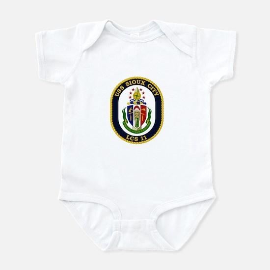 USS Sioux City Infant Bodysuit