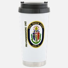 PCU Sioux City Stainless Steel Travel Mug